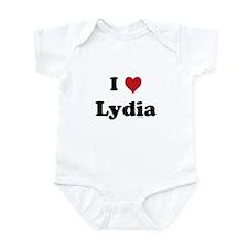 I love Lydia Onesie