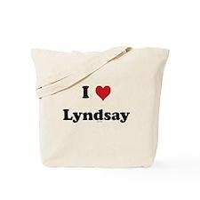 I love Lyndsay Tote Bag