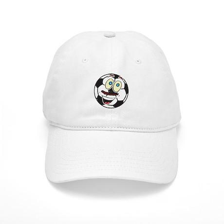 Soccer Ball Smiley Cap