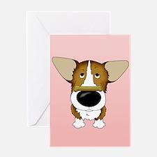 Corgi Valentine's Day Greeting Card