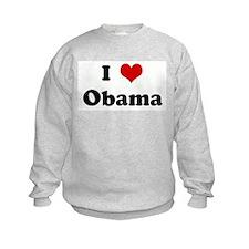 I Love Obama Sweatshirt