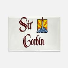 Sir Corbin Rectangle Magnet