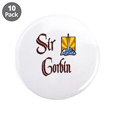 "Sir Corbin 3.5"" Button (10 pack)"