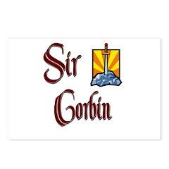 Sir Corbin Postcards (Package of 8)