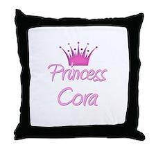 Princess Cora Throw Pillow