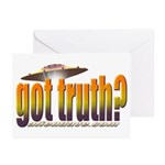 got truth? orange Greeting Cards (Pk of 10)