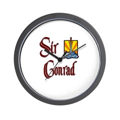 Sir Conrad Wall Clock