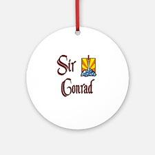 Sir Conrad Ornament (Round)
