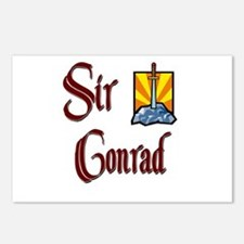 Sir Conrad Postcards (Package of 8)
