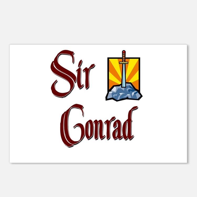 Sir Conrad Postcards (Package of 8)