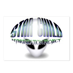 Star Child Hybrid Postcards (Package of 8)