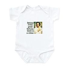 Balzac Quote Infant Bodysuit