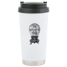 I'm betting on Alice Travel Coffee Mug