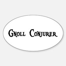 Gnoll Conjurer Oval Decal