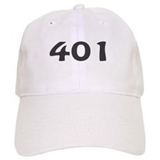 401 Area Code Baseball Baseball Cap