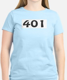 401 Area Code T-Shirt