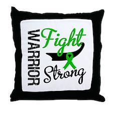 Cancer Warrior Fight Throw Pillow