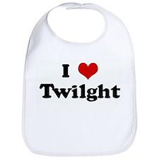 I Love Twilght Bib