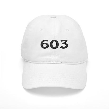 603 area code baseball cap by amusingapparel