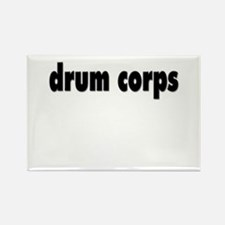 drum corps Rectangle Magnet