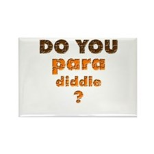 Do You Paradiddle? Rectangle Magnet