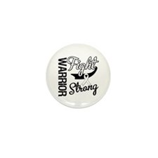Lung Cancer Warrior Mini Button (10 pack)