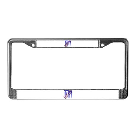 EighTee's License Plate Frame
