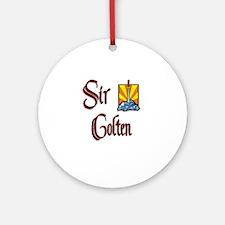 Sir Colten Ornament (Round)