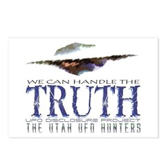We Can Handle The Truth Postcards (Package of 8)