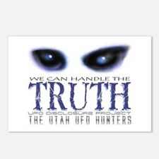 We Can Handle The Truth 2 Postcards (Package of 8)