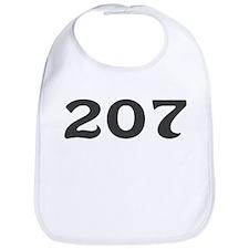 207 Area Code Bib