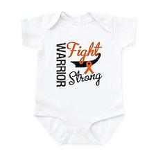 Leukemia Warrior Fight Infant Bodysuit