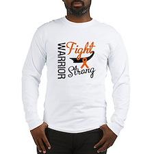 Leukemia Warrior Fight Long Sleeve T-Shirt