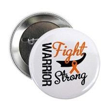 """Leukemia Warrior Fight 2.25"""" Button"""