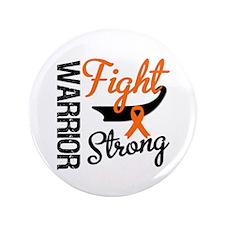 "Leukemia Warrior Fight 3.5"" Button (100 pack)"