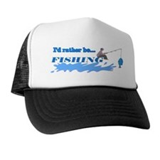 I'd Rather be Fishing Hat/Cap