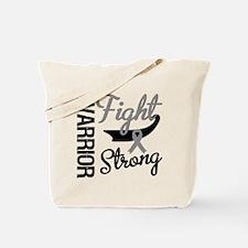 Brain Cancer Warrior Tote Bag