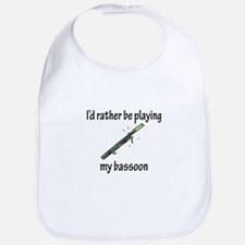 Playing My Bassoon Bib