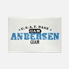 Andersen Air Force Base Rectangle Magnet