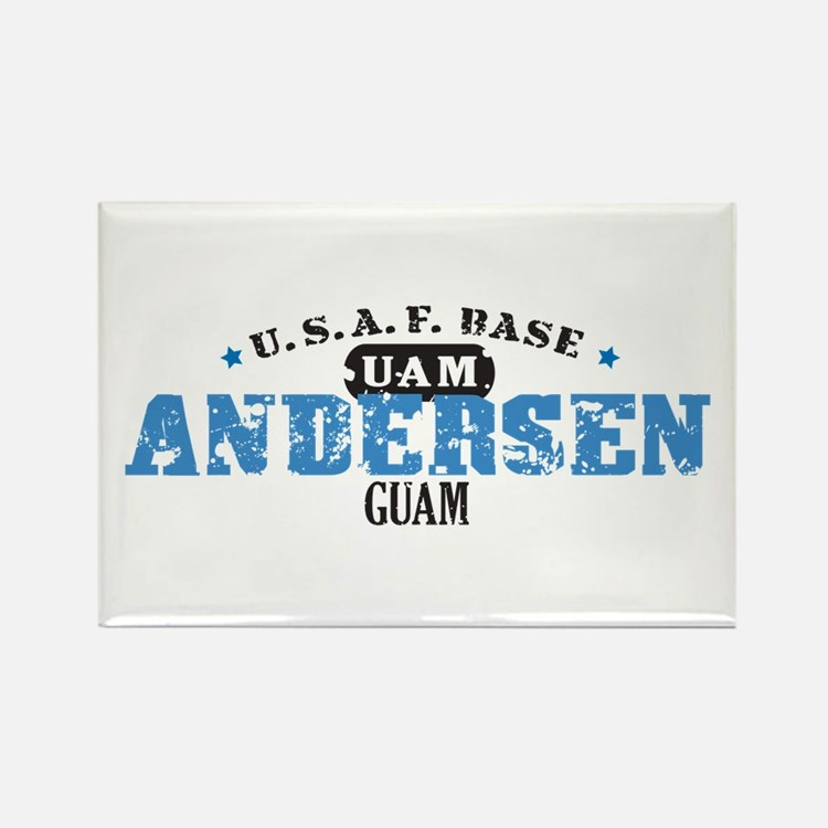 Andersen Air Force Base Rectangle Magnet