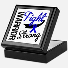 Colon Cancer Warrior Keepsake Box