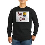 Sir Colin Long Sleeve Dark T-Shirt