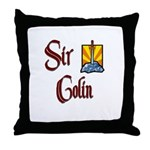 Sir Colin Throw Pillow