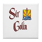 Sir Colin Tile Coaster