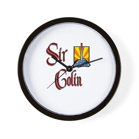 Sir Colin Wall Clock