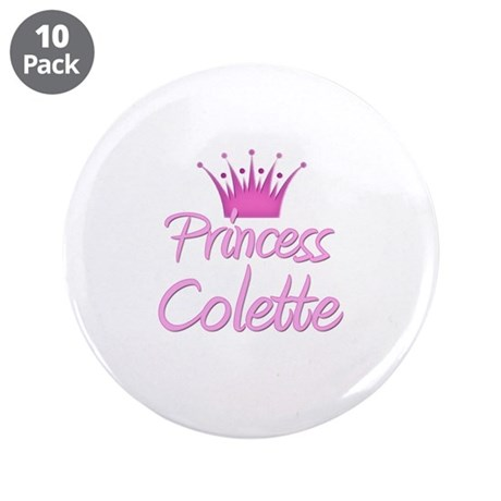 """Princess Colette 3.5"""" Button (10 pack)"""
