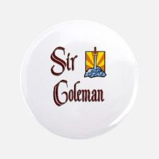 "Sir Coleman 3.5"" Button"