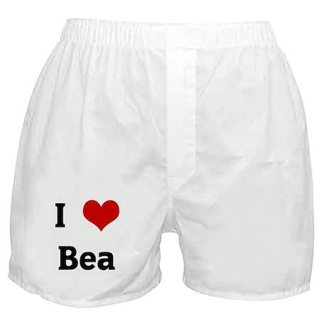 I Love Bea Boxer Shorts