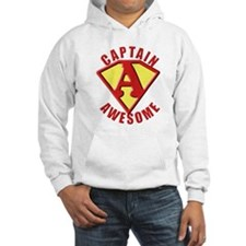 Captain Awesome 3 Hoodie