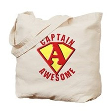 Captain Awesome 3 Tote Bag